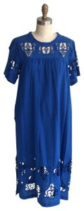 cobalt Maxi Dress by Sea