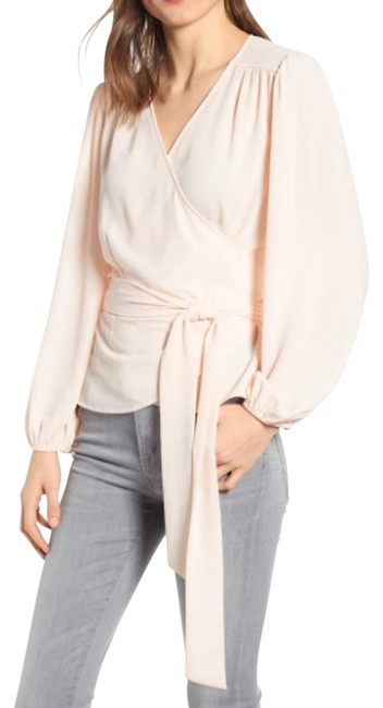 Preload https://img-static.tradesy.com/item/25645865/chelsea28-peachpink-wood-blouse-size-6-s-0-1-650-650.jpg