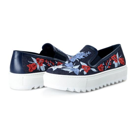Salvatore Ferragamo Blue Platforms Image 7