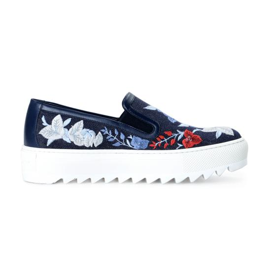 Salvatore Ferragamo Blue Platforms Image 3