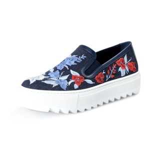 Salvatore Ferragamo Blue Platforms