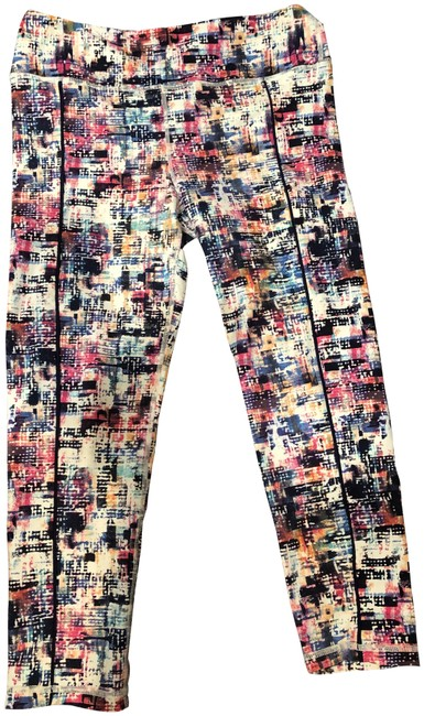 Item - Multicolor Colored Leggings Activewear Bottoms Size 8 (M, 29, 30)