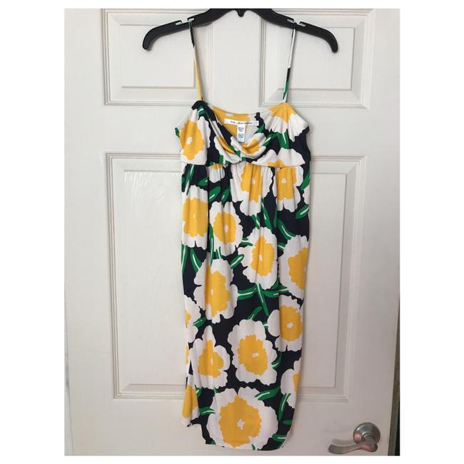 Item - Multicolor Mid-length Short Casual Dress Size 4 (S)