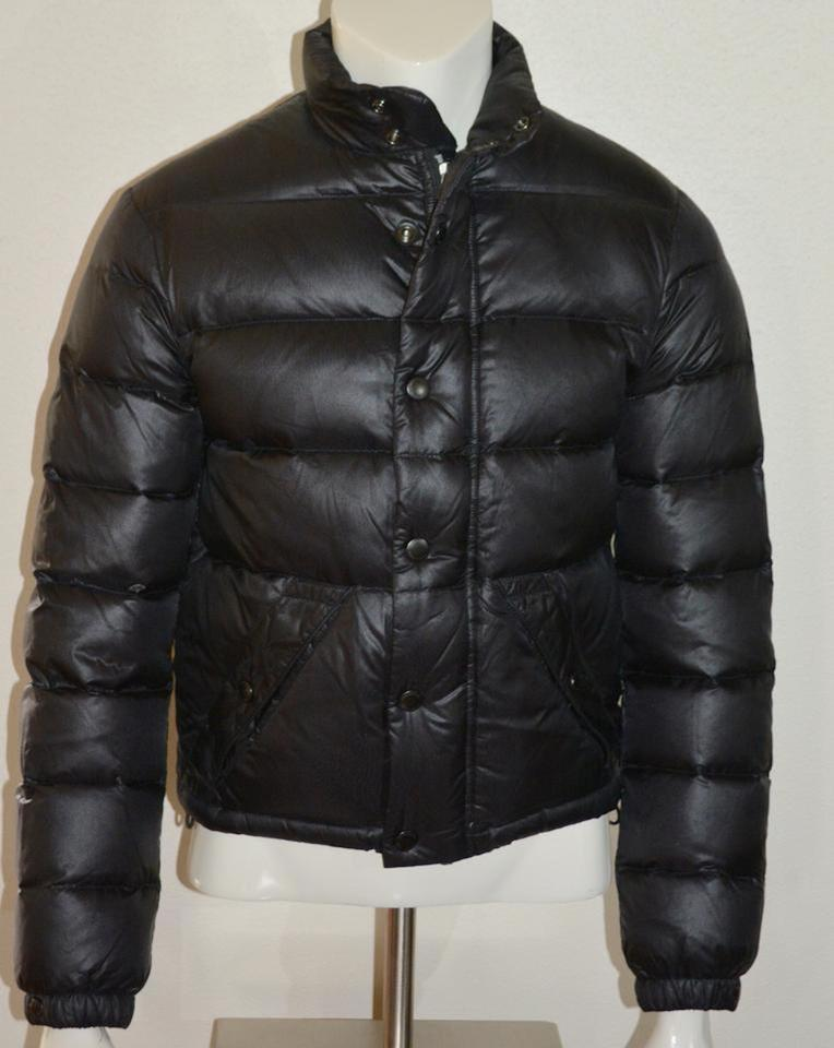 Burberry Black Brit Mens Duck Down Quilted Puffer Jacket
