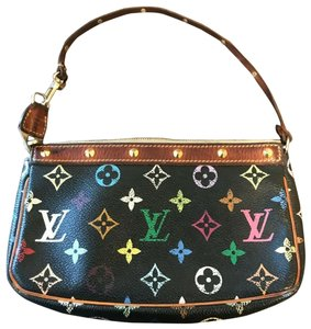 Louis Vuitton Louis Vuitton Black Multi Pochette