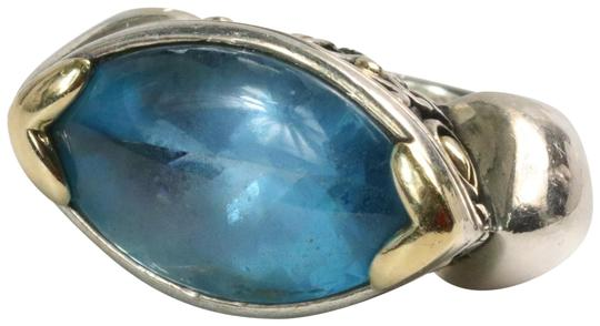 Preload https://img-static.tradesy.com/item/25649370/john-hardy-blue-topaz-marquise-shape-sterling-silver-18k-ring-0-1-540-540.jpg