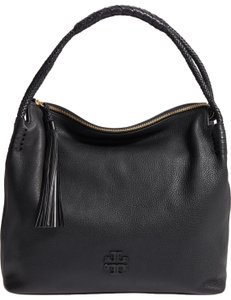 Tory Burch Taylor Leather Pebbled Hobo Bag