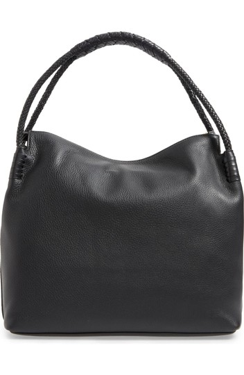 Tory Burch Taylor Leather Pebbled Hobo Bag Image 1