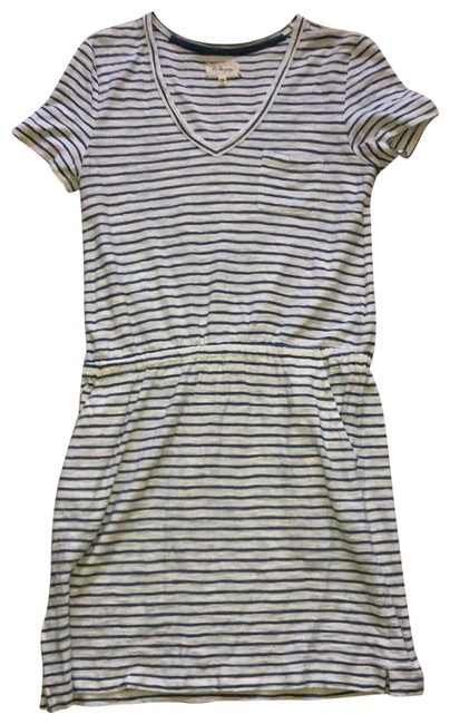 Preload https://img-static.tradesy.com/item/25649395/lou-and-grey-white-with-blue-striped-elastic-waist-short-casual-dress-size-2-xs-0-1-650-650.jpg