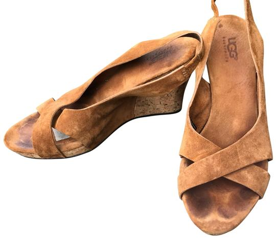 Preload https://img-static.tradesy.com/item/25649446/ugg-australia-tan-leather-cork-wedges-size-us-9-regular-m-b-0-1-540-540.jpg