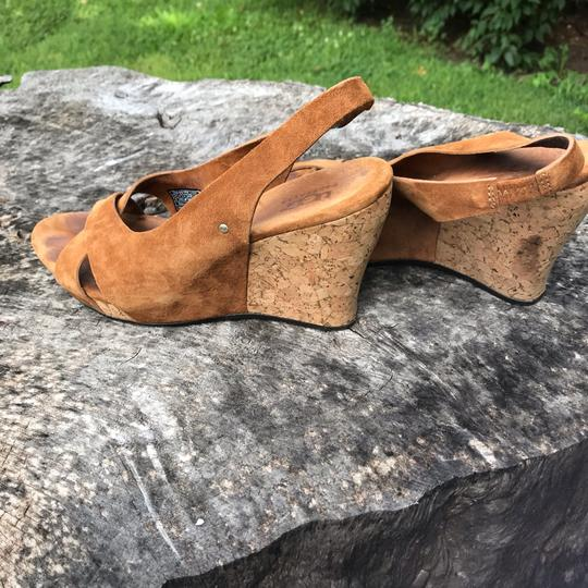 UGG Australia Tan Wedges Image 3