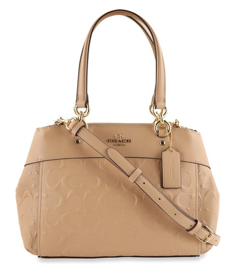 Coach Carryall 34797 36704 Christie Satchel in Beige Image 0