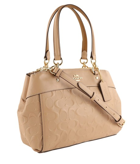 Coach Carryall 34797 36704 Christie Satchel in Beige Image 1