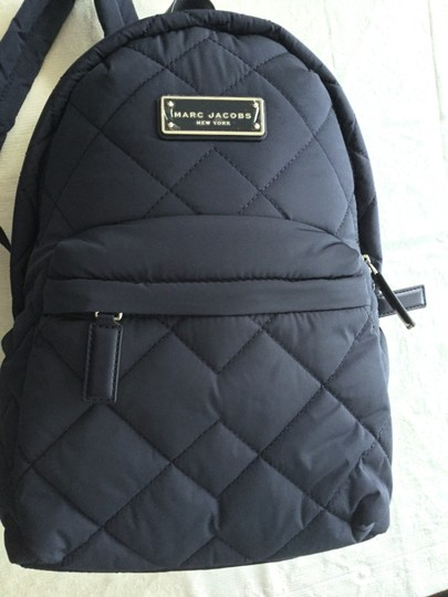 Marc Jacobs Begonia Pink Quilted Backpack Image 1