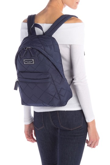 Marc Jacobs Begonia Pink Quilted Backpack Image 10