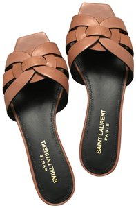 Saint Laurent nude/tan Sandals