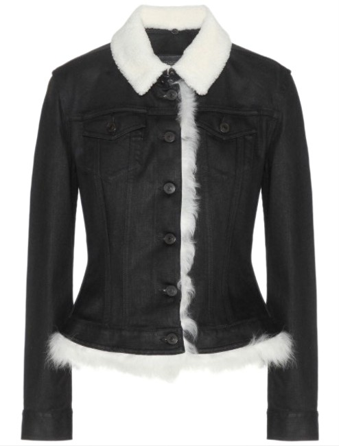 Burberry Brit Black Womens Jean Jacket Image 0