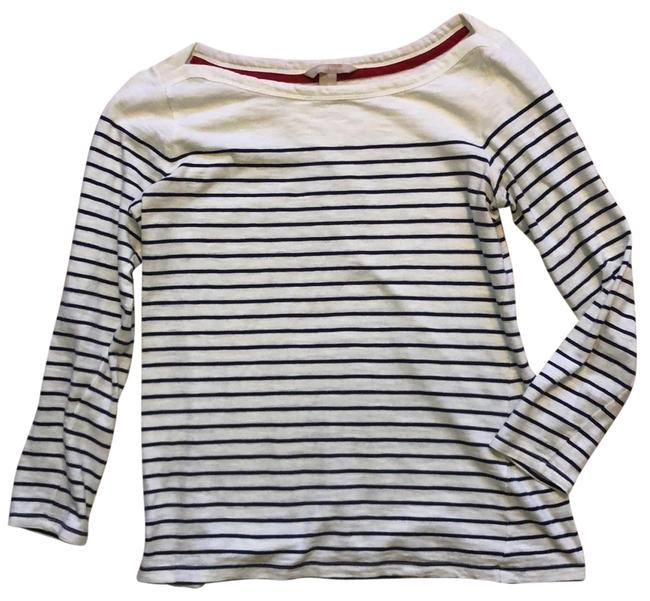 Preload https://img-static.tradesy.com/item/25649512/banana-republic-white-with-blue-boat-neck-striped-tunic-size-8-m-0-1-650-650.jpg
