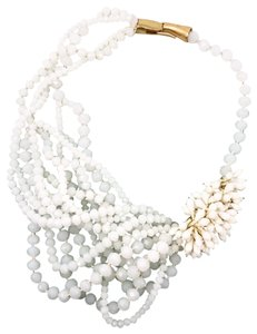 India Hicks India Hicks White Out Necklace New