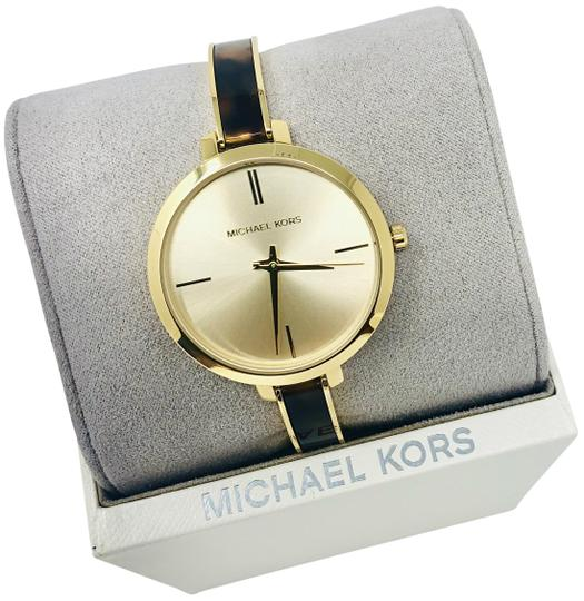 Preload https://img-static.tradesy.com/item/25649523/michael-kors-gold-tone-new-jaryn-three-hand-stainless-steel-mk4341-watch-0-3-540-540.jpg