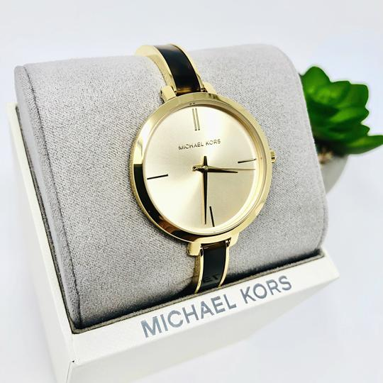 Michael Kors NEW Jaryn Three-Hand Gold-Tone Stainless Steel Watch MK4341 Image 4