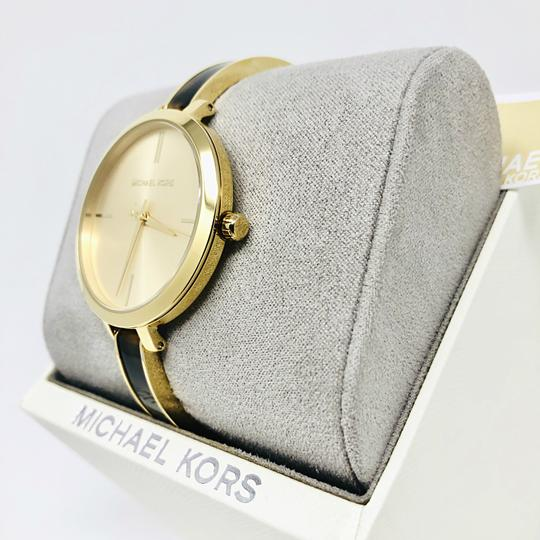 Michael Kors NEW Jaryn Three-Hand Gold-Tone Stainless Steel Watch MK4341 Image 5
