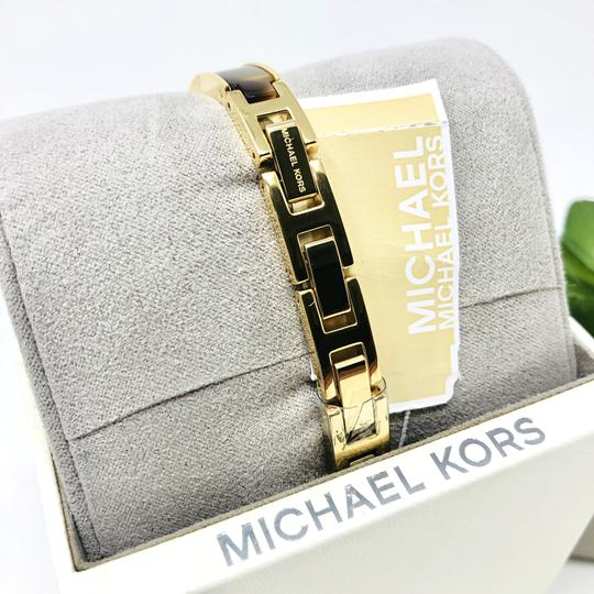 Michael Kors NEW Jaryn Three-Hand Gold-Tone Stainless Steel Watch MK4341 Image 7