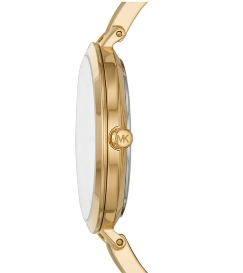 Michael Kors NEW Jaryn Three-Hand Gold-Tone Stainless Steel Watch MK4341 Image 9