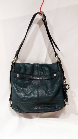 Fossil Thick Leather Charm Messenger Style Nickel Shoulder Bag Image 2