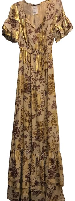 Preload https://img-static.tradesy.com/item/25649542/diane-von-furstenberg-jane-metallic-chiffon-long-casual-maxi-dress-size-4-s-0-1-650-650.jpg
