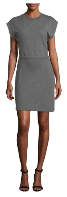 Preload https://img-static.tradesy.com/item/25649670/alexander-wang-gray-french-terry-cinch-waist-short-casual-dress-size-8-m-0-1-650-650.jpg