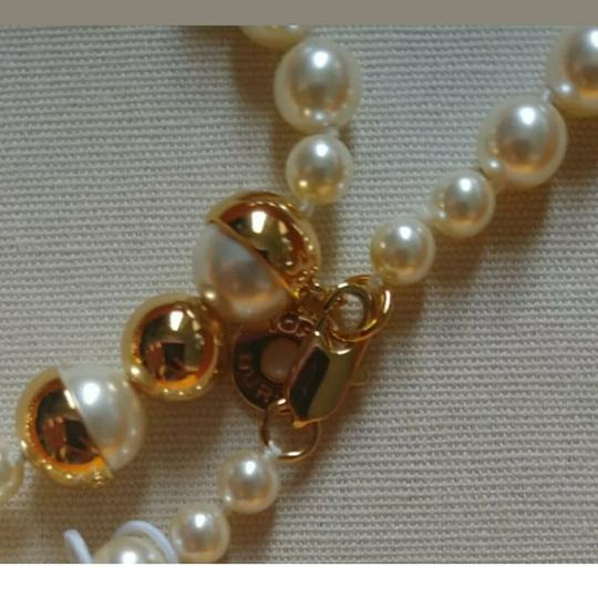 Tory Burch Capped Crystal pearl necklace Image 2