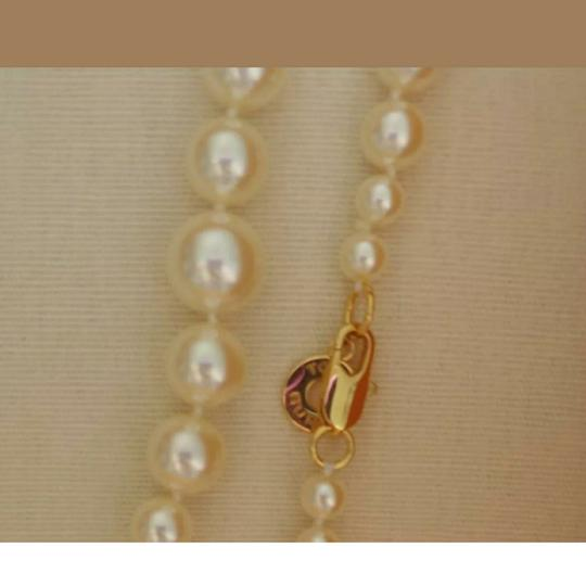 Tory Burch Capped Crystal pearl necklace Image 3
