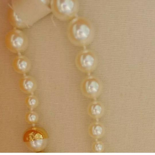 Tory Burch Capped Crystal pearl necklace Image 4