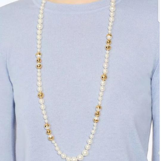 Tory Burch Capped Crystal pearl necklace Image 6