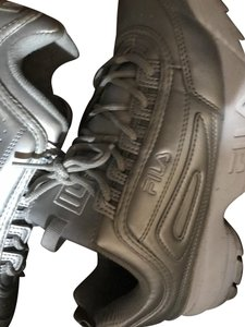 Fila Metallic Chunky Summer Festival Comfortable Silver Athletic