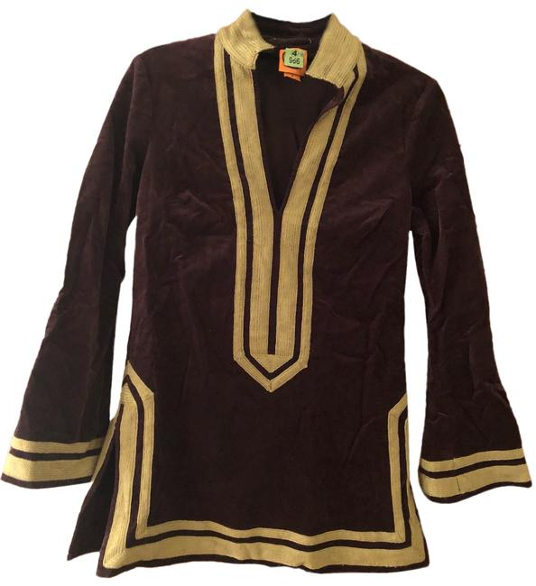 Preload https://img-static.tradesy.com/item/25649714/tory-burch-cotton-velvet-tunic-size-4-s-0-1-650-650.jpg