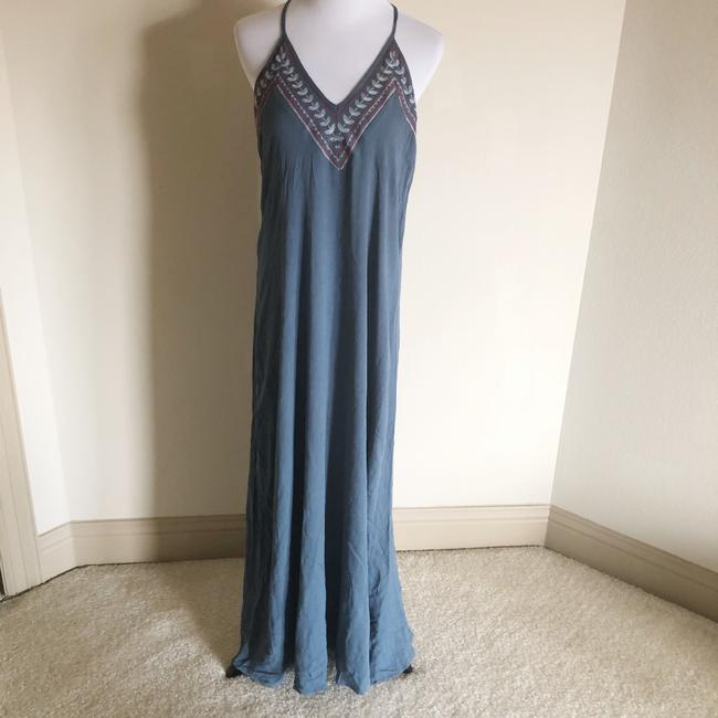 blue red white Maxi Dress by Love Stitch Image 2