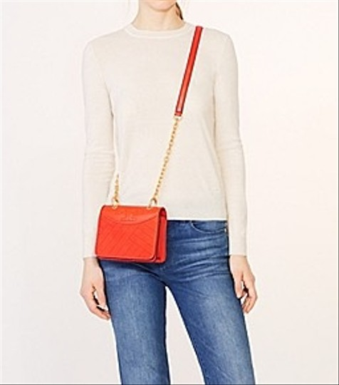 Tory Burch Quilted Alexa Mini Leather Cross Body Bag Image 1