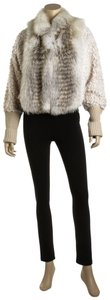 Fendi Jacket Cropped Fur Coat