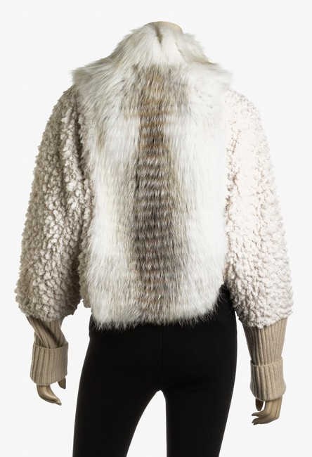 Fendi Jacket Cropped Fur Coat Image 5