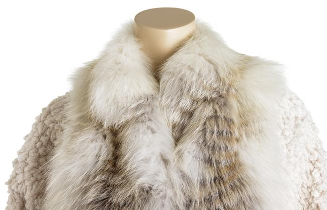 Fendi Jacket Cropped Fur Coat Image 7