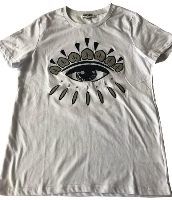 Preload https://img-static.tradesy.com/item/25649787/kenzo-white-eye-embroidered-t-shirt-m-8-fitted-tee-shirt-size-8-m-0-1-650-650.jpg