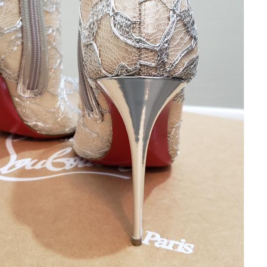 Christian Louboutin Silver Boots Image 1
