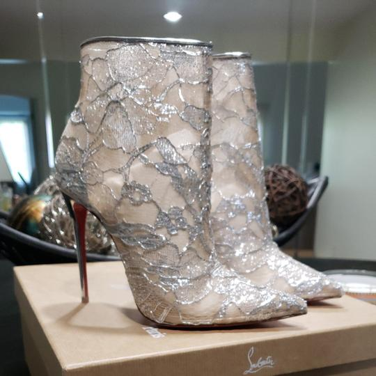 Christian Louboutin Silver Boots Image 2