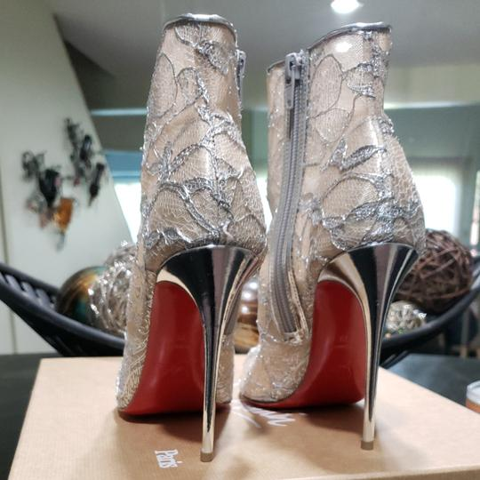 Christian Louboutin Silver Boots Image 3