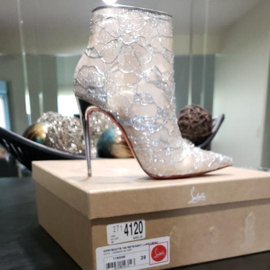 Christian Louboutin Silver Boots Image 4