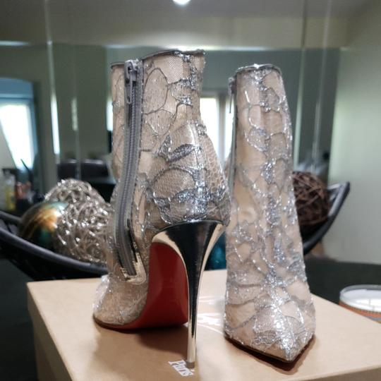 Christian Louboutin Silver Boots Image 6