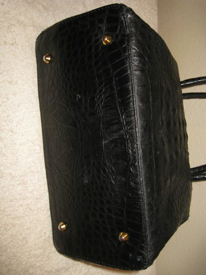 Old Florence Leather Factory Satchel in black Image 3