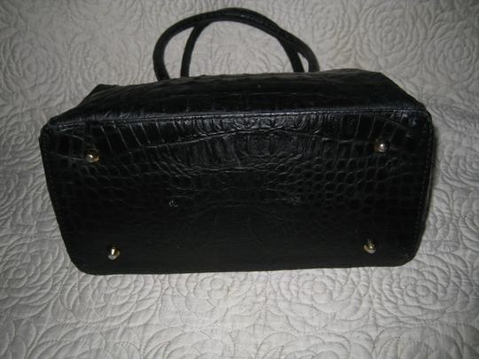 Old Florence Leather Factory Satchel in black Image 8